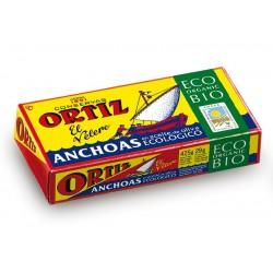 Filets d'anchois à l'huile d'olive Bio 47g