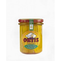 Thon albacore à l'huile d'olive Bio Bocal Verre 220g
