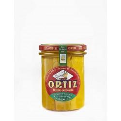 Thon blanc germon à l'huile d'olive Bio Bocal Verre 220g