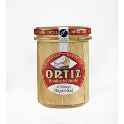 Thon Blanc Germon au naturel (pauvre en sel) Bocal Verre 220g