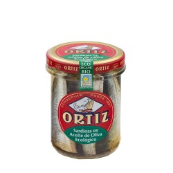 Sardines à l'huile d'olive Bio Bocal Verre 190g