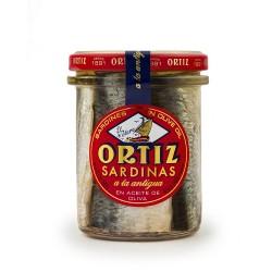 Sardines Huile Olive Bocal Verre 190g